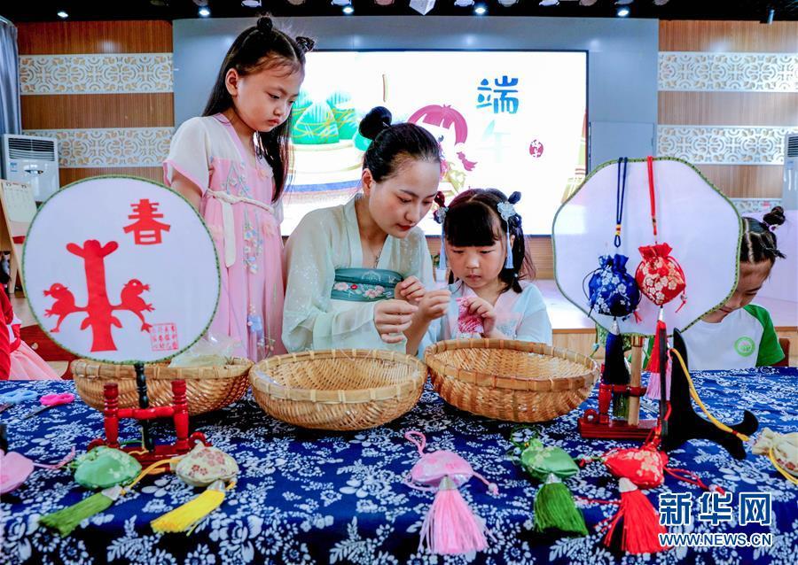 (教育)(3)浙江长兴:幼儿园多彩活动迎端午