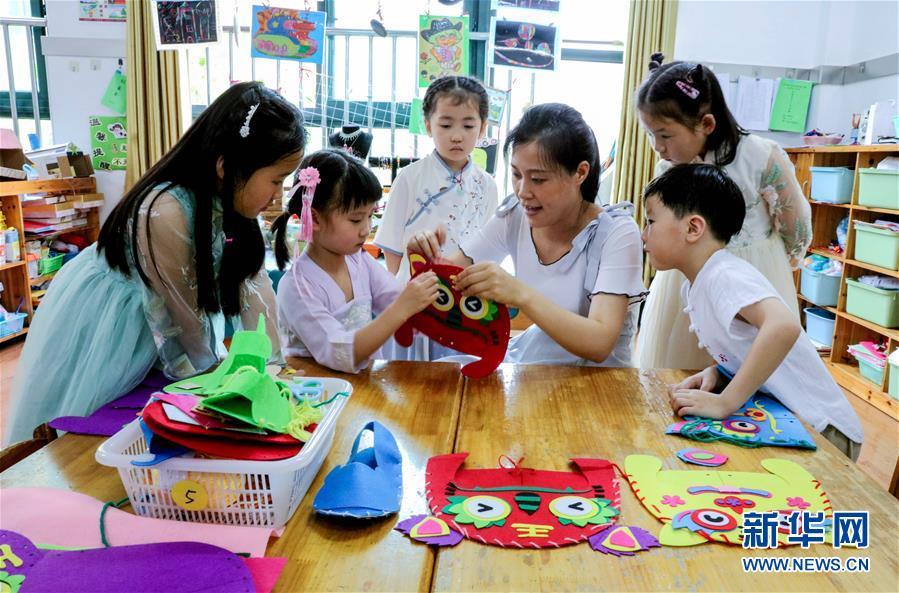 (教育)(4)浙江长兴:幼儿园多彩活动迎端午