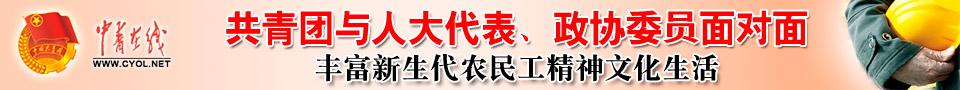 """2012""""共青团与人大代表、政协委员面对面"""""""